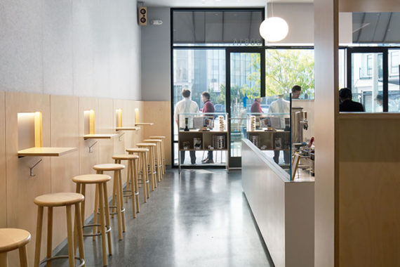 blue bottle architecture